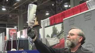 How To Make a Hood Scoop - Custom Metal Fabrication with Ron Covell at Eastwood