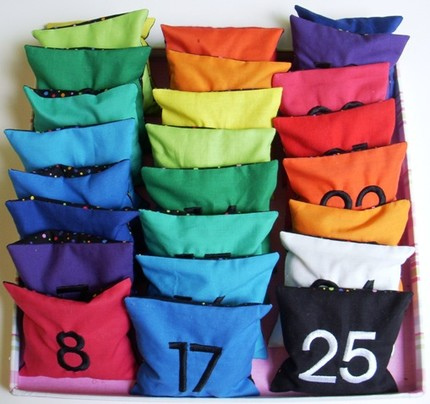 Full Set Count and Spell Color Recognition Beanbags – by ELLE BELLE on Etsy!