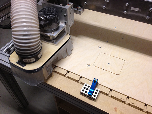 Using a China CNC machine to cut out 3d printer frames