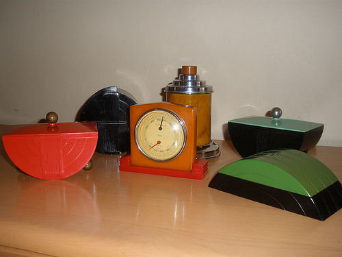 Art Deco Bakelite and Catalin Objects