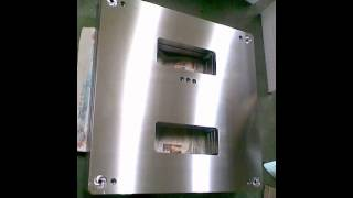 .Aluminum surface grinding