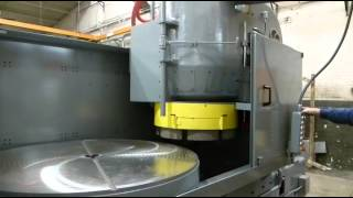 Blanchard No. 18-36 vertical spindle rotary grinder – how to operate