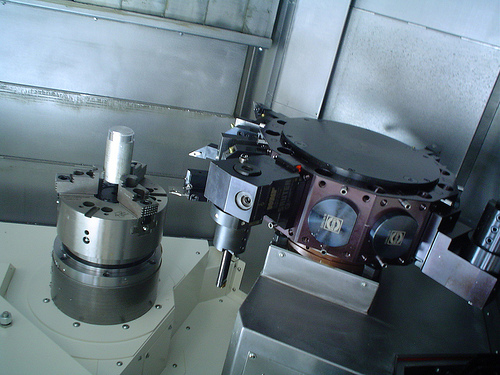9-axis CNC turning/milling machine