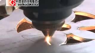500W 650W YAG CNC Metal Cutting Laser Machine