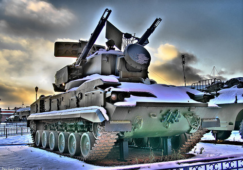 "9K22 Tunguska Anti-Aircraft Weapon. ЗСУ 9К22 ""Тунгуска"""