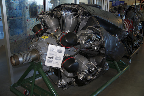 Pratt and Whitney Wasp Significant R-4360 corncob