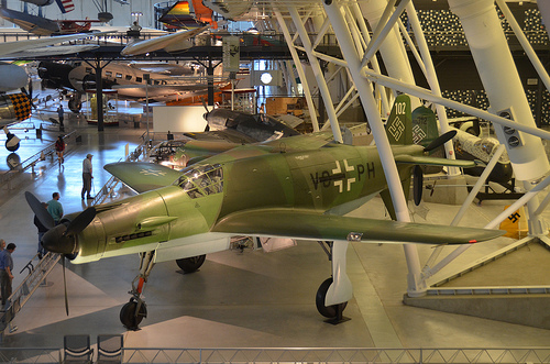 Steven F. Udvar-Hazy Center: Dornier Do 335A-1 Pfeil (Arrow)