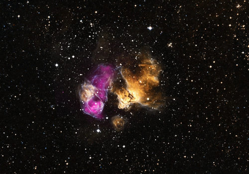 Hardy Star Survives Supernova Blast (NASA, Chandra, 03/20/14)